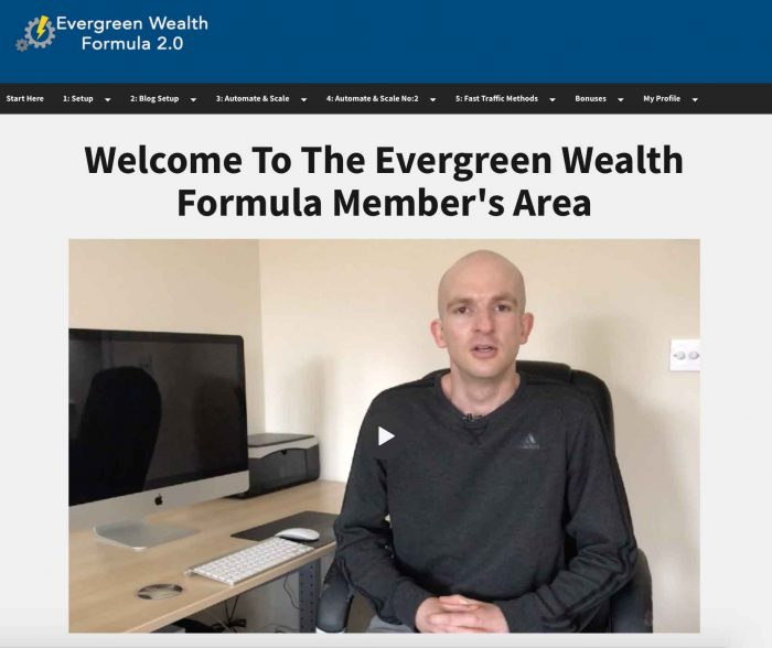 Evergreen Wealth Formula Review - Scam?